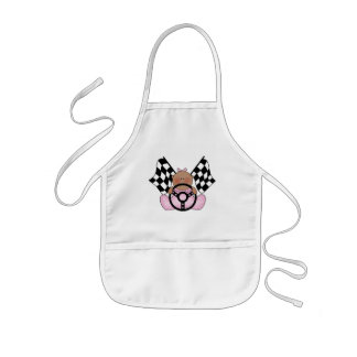 Lil Race Winner Baby Girl - Ethnic Kids' Apron