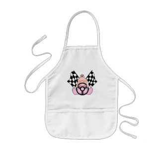 Lil Race Winner Baby Girl Kids' Apron