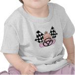 Lil Race Winner Baby Girl Shirt