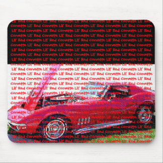 Lil' Red Corvette Mouse Pad