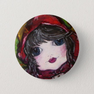 Lil' Red Riding Hood Button