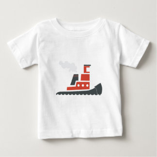 Lil Red Tugboat Baby T-Shirt