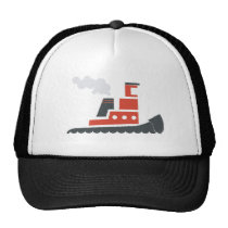 Lil Red Tugboat Trucker Hat