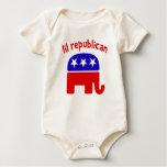 Lil Republican Baby Bodysuit