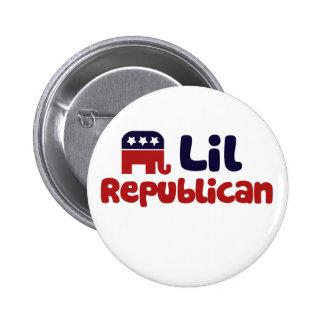 Lil Republican Pinback Button