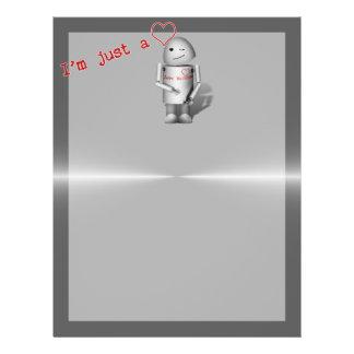 (Lil' Robo-x9) Love Machine Personalized Flyer