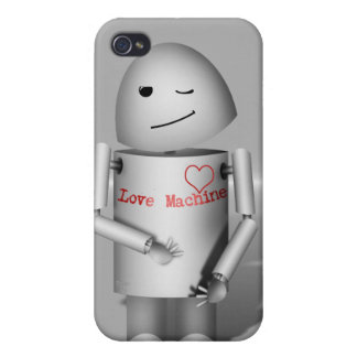 (Lil' Robo-x9) Love Machine Case For iPhone 4