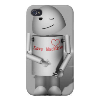 (Lil' Robo-x9) Love Machine Cases For iPhone 4