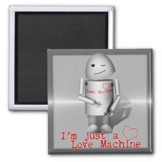 Lil Robo-x9 máquina del amor Imán De Nevera