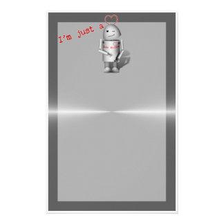 (Lil Robo-x9) máquina del amor Papelería Personalizada