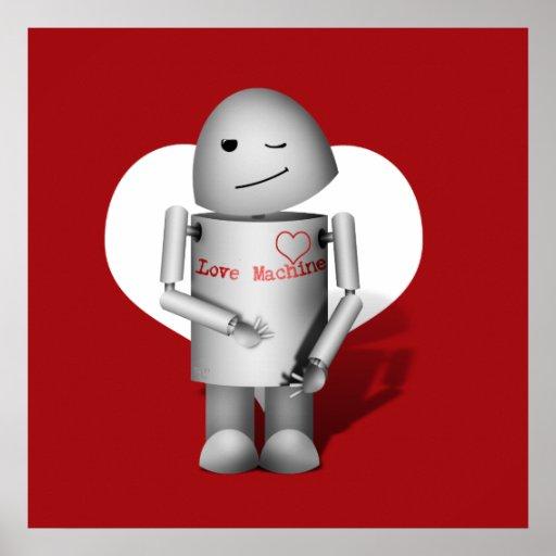 (Lil Robo-x9) máquina del amor Posters