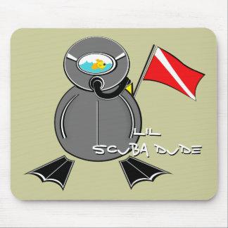 lil Scuba Dude Mouse Pad
