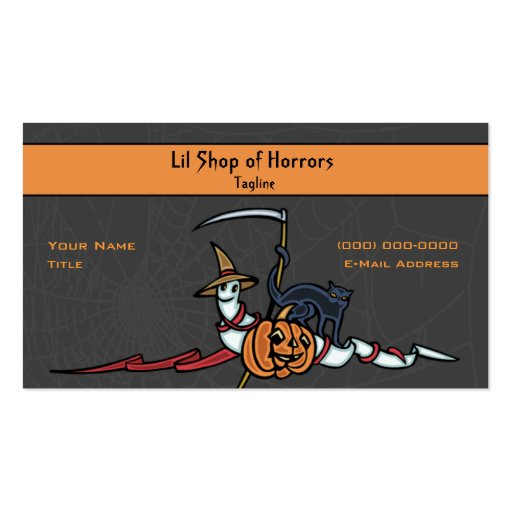 Lil Shop of Horrors Business Cards