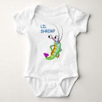 lil shrimp baby bodysuit