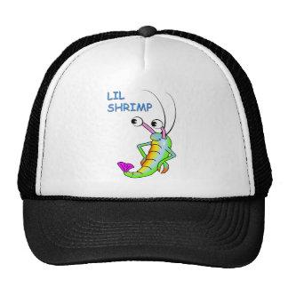 lil shrimp trucker hat