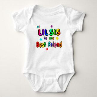 Lil Sis Best Friend Baby Bodysuit