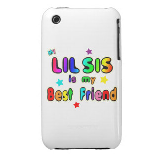 Lil Sis Best Friend Case-Mate iPhone 3 Cases