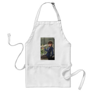 Lil Sis Waits For Your From Work Adult Apron