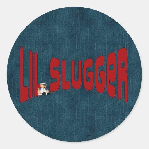 lil Slugger Classic Round Sticker