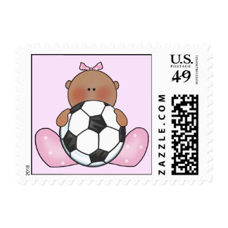 Lil Soccer Baby Girl - Ethnic Postage