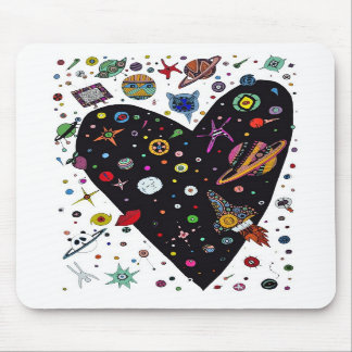 Lil Spaceman's Adventures mousepad! Mouse Pad