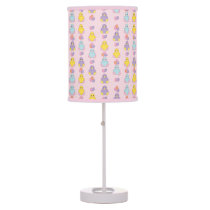 Lil Spring Chick Pattern Table Lamp