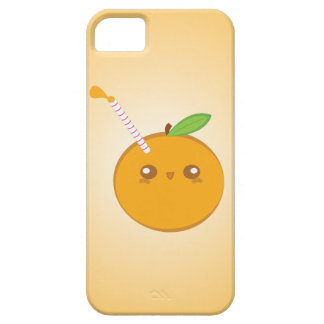 Lil' Squirt Cute Baby Orange iPhone Case