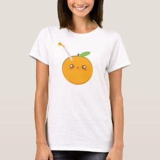 Lil' Squirt Cute Baby Orange T-Shirt