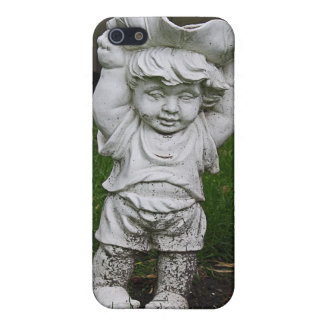 Lil Statue Boy Garden Photo iPhone SE/5/5s Cover