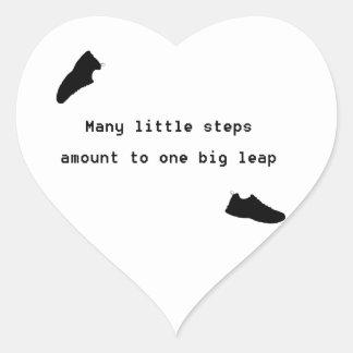 Lil Steps Heart Sticker