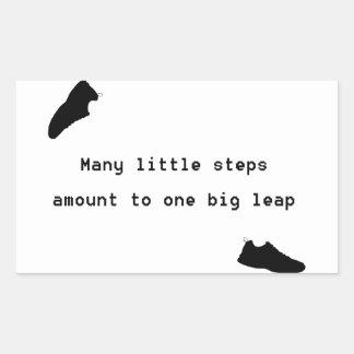Lil Steps Rectangular Sticker