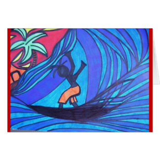 Lil' Surfer Dude Card