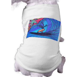 Lil' Surfer Dude Dog Tshirt