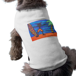 Lil Surfer Dude Hanging Out Tee
