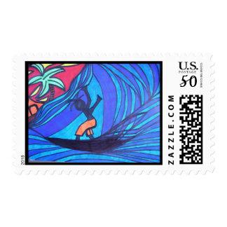 Lil' Surfer Dude Postage