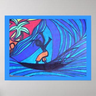 Lil Surfer Dude Poster