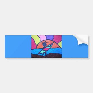 Lil' Surfer Dude - Setting Sun Bumper Sticker