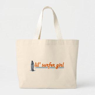 Lil Surfer Girl Jumbo Tote Bag