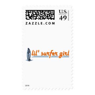 Lil Surfer Girl Stamp