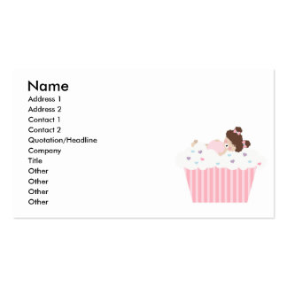 lil sweetie tooth all full cupcake dreams business card