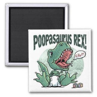 Lil' T Rex Poopasaurus Rex Magnet