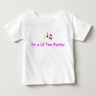 Lil' Tea Partier (girl) Baby T-Shirt