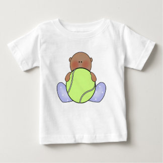 Lil Tennis Baby Boy - Ethnic Baby T-Shirt