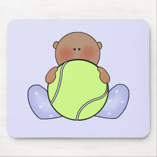 Lil Tennis Baby Boy - Ethnic Mousepad