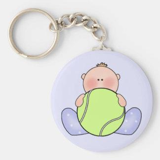 Lil Tennis Baby Boy Keychain