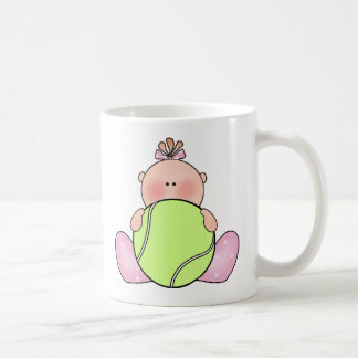 Lil Tennis Baby Girl Coffee Mug