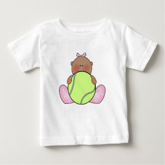 Lil Tennis Baby Girl - Ethnic Baby T-Shirt