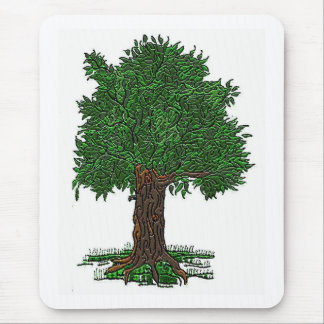 Lil Tree Mouse Pad