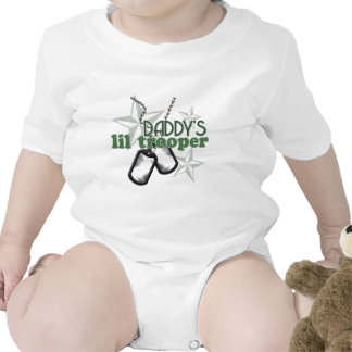 Lil Trooper Baby Bodysuits