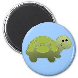 Lil Turtle 2 Inch Round Magnet
